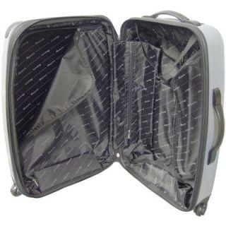 McBrine Luggage Eco friendly ABS Hardsided 3 Piece Spinner Luggage Set