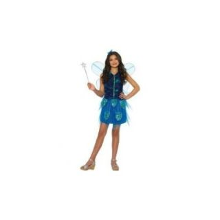 Dress Up America Butterfly Deluxe Dress Childrens Costume   242