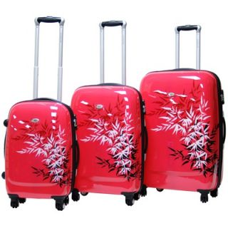 CalPak Bangkok Expandable Hardsided 3 Piece Spinner Luggage Set