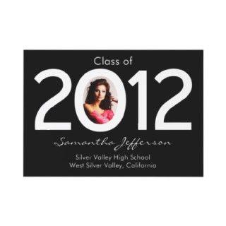 de la graduación de la foto de 2012 círculos por CustomInvites