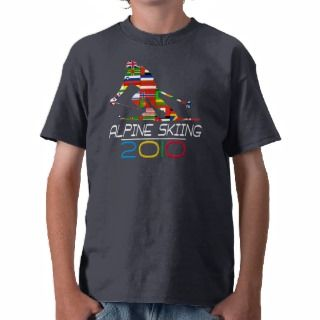 2010 Alpine Skiing Tees
