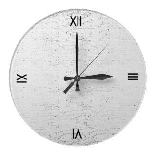 Modern Marble Textured Wall Clock