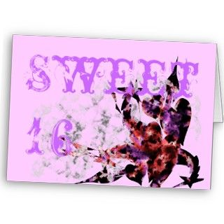 Sweet 16 Party Invitations Card