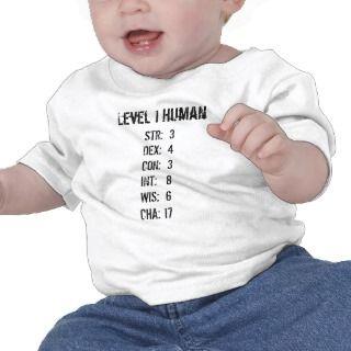 Ser humano del nivel 1 camisetas de