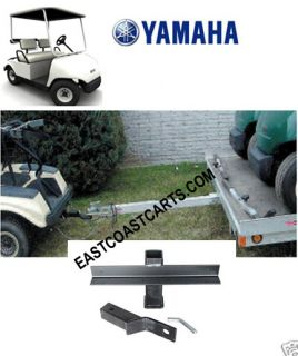 Yamaha Golf Cart Trailer Hitch with 2 Receiver