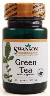 Premium Green Tea 30 capsules, 500mg, Fat Burner Pill, Weight Loss