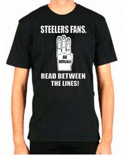 Bengals Hate Steelers Funny Football Cincinnati Shirt