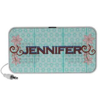 Jennifer 3D, lace & floral art speaker