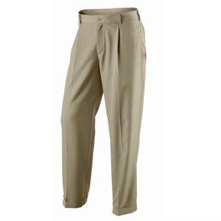 New Nike Tour Pleated Mens Golf Pants Khaki Multiple Size
