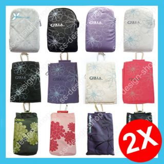 Lot of 2 Golla Bags for  iPod iTouch Mobile Cell Phone iPhone