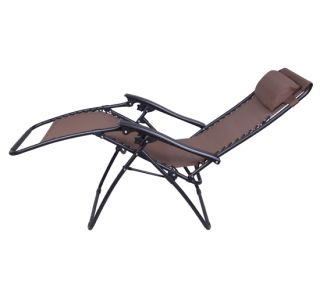 2NEW Lounge Chairs Zero Gravity Folding Recliner Outdoor Patio Pool