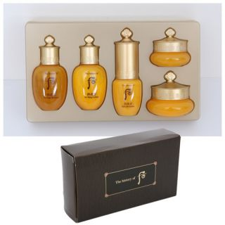 GWP the history of whoo Gong jin hyang 5 piece special gift set LG