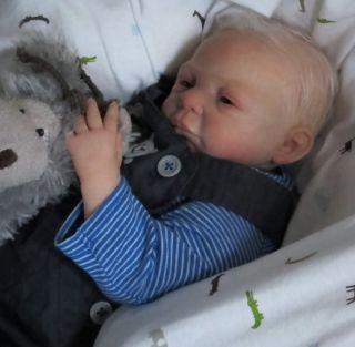 Sweet Realistic Reborn Newborn Baby Boy ♥ Menna Hartog Sculpt