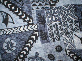 Tapa Hawaiian Quilt Hawaii Car Seat Covers & Bench Cover Gray