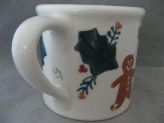 Hartstone Pottery Hand Painted Huge Holiday Mug