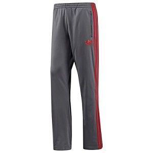 Adidas Originals Firebird Track Pants Gray Red 2XL