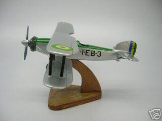 Fairey Gordon Airplane Desk Wood Model Freeshipping New