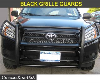 2011 2012 Toyota RAV4 Black Grille Guards Brush Bull Nudge Bars