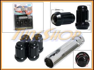 Lock Gorilla Tuner Wheel Lug Nut 5 Point Key 12x1 5 12 1 5 Acorn
