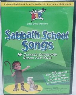 Sabbath School Songs DVD 15 Classic Christian Songs for Kids