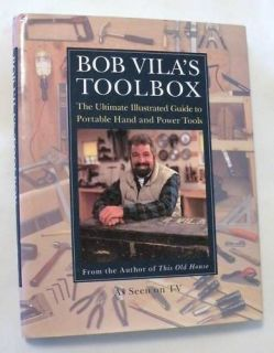 BOB VILAS TOOLBOX guide hand & power tools woodworking Vila