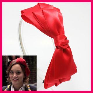 Gossip Girl Headband Hair Accessory Hat Band Ribbon Bow