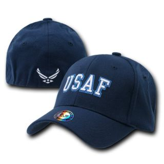 Blue United States Air Force Cap Hat Hats USAF Flex L X