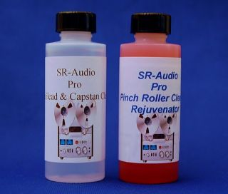SR Audio Tape Echo Delay Head Cleaner Pinch Roller Cleaner Conditioner