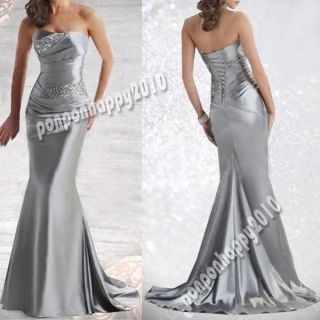 Wedding Formal Evening Dress Prom Ball Gowns Stock 6 14 Custom