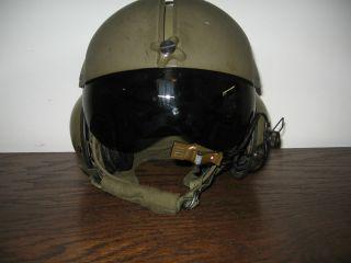 Original Vintage 1980s Gentrex US Jet Helicopter Pilot Helmet
