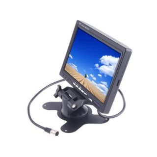 TFT LCD Rear View Headrest Monitor for DVD VCR GPS Car Reverse