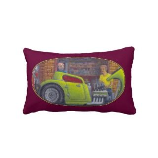 32 Ford three window coupe hot rod Pillows