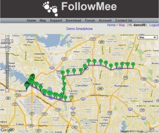Software for Android Real Time GPS Car Vehicle Tracker, Free Online