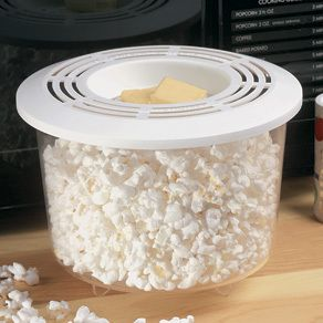 Microwave Popcorn Popper Healthy Snack Cooking Home Kitchen Cookware