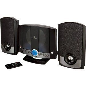 GPX Vertical Home Music System w/ CD Player Stereo Music Sound Music
