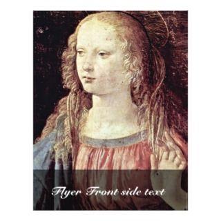 Annunciation By Leonardo Da Vinci Custom Flyer