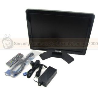 LCD Color Display Video TV Security CCTV Monitor PC VGA HDMI Display