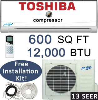 Mini Split Air Conditioner Heat Pump 1 Ton 25 Feet Lineset