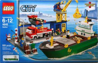 LEGO City Harbor 4645 Damaged Box