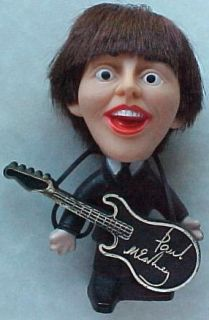 Beatles Paul McCartney 1964 Vintage Hard Body Remco Doll