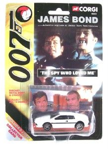 Corgi 99657 James Bond Lotus Esprit The Spy Who Loved Me Roger Moore