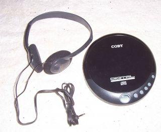 Coby Digital Compact Disc Audio Player w/ Headphones Model CX CD109