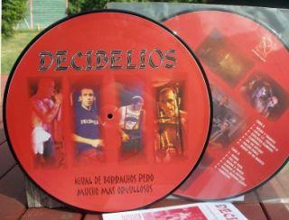 Decibelios Picture Disc LP 1985 Spain Skinhead Ska New