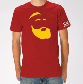 Houston Rockets James Harden Red T Shirt Rockets Harden Jersey
