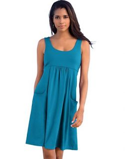 Hanes Signature Womens Essential Tank Dress Style 54708
