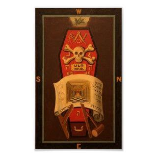 Masonic Tracing Board   Master Mason 2 Posters