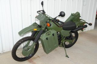 Harley Davidson MT500 Manual RARE Military Bike