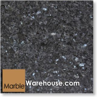 12x12 Blue Pearl Polished Granite Tile Floor