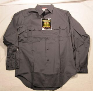 Vintage Mens Big Mac Pennys Long Sleeve Button Front Work Shirt Small