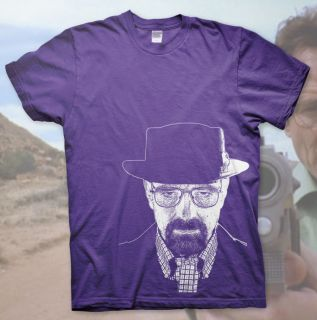 Heisenberg  High Quality T Shirt Breaking Bad Walter White Jesse